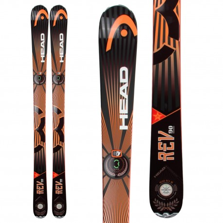 Carving all mountain head rev cm skis only